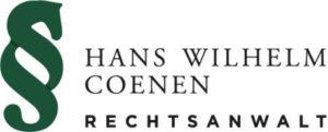 Logo Coenen Anwalt